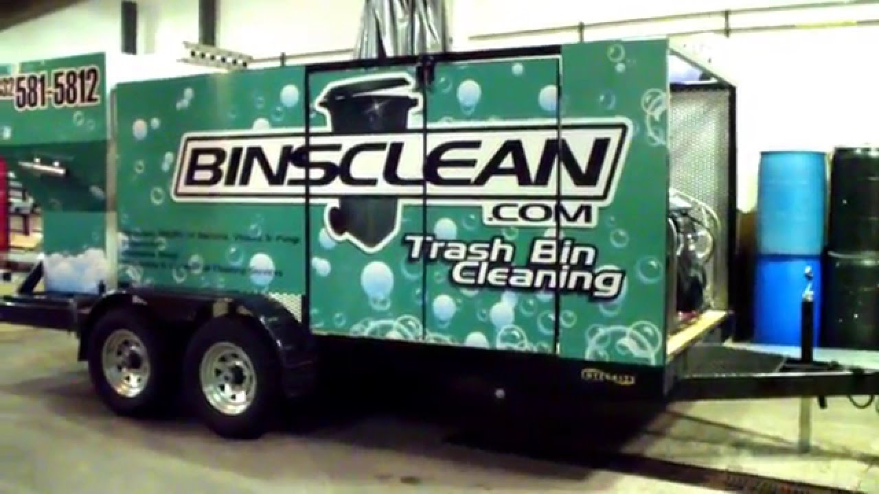 Wheelie Bin Cleaning >> High Speed Wheelie Bin Cleaning Systems For Sale Www Hydrochemsystems Com