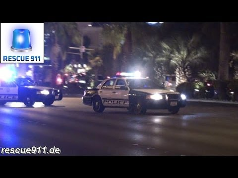 [Las Vegas] 6x Metropolitan Police + Rescue 32 Clark County Fire Department