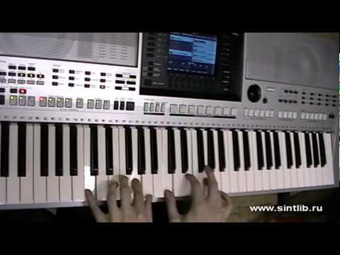 Рапунцель музыка из мультика игра на синтезаторе - YouTube