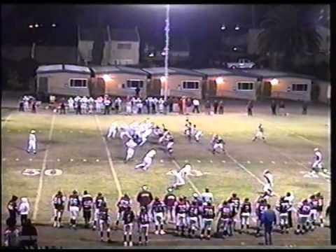 Santa Paula High School Football: Santa Paula vs. Bishop Diego, CIF Round 1 (11/17/00)