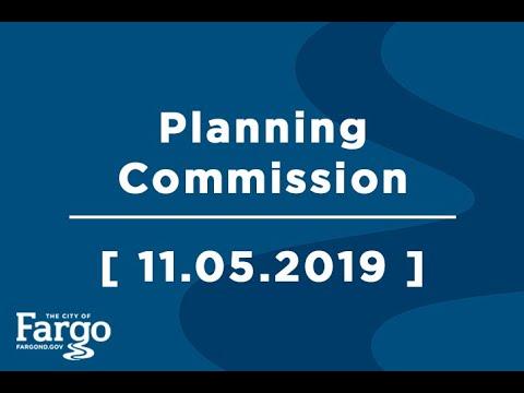 Fargo Planning Commission - 11.05.2019