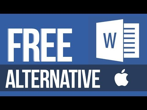FREE Alternative To Microsoft Word In Mac | MacBook Pro, IMac, Mac Mini, Mac Pro, MacBook Air