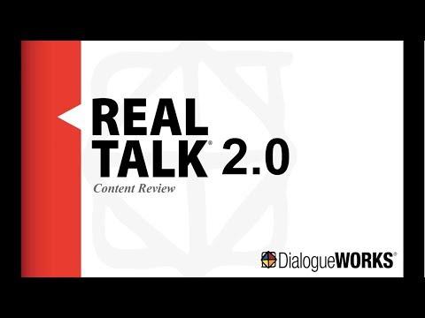 REAL Talk 2 0 Webinar
