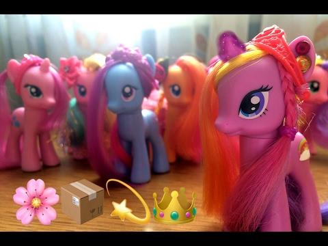 My little pony обзор Китайские пони Лира, Октавия Мелоди, миссис .
