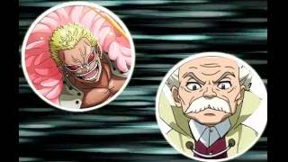 Fairy tail VS One piece 1.1: Makarov và Doflamingo!!!