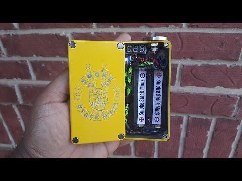 Smoke Stack Modz Series Box Mod Review - VapingwithTwisted420