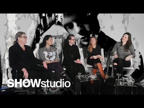 J.W. Anderson - Womenswear Autumn / Winter 2014 Panel Discussion
