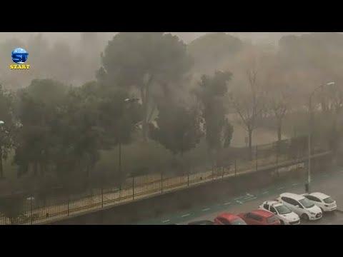 عواصف ، ثلوج ، وسحب نارية في تركيا ، السعودية ، اسبانيا ،وفرنسا