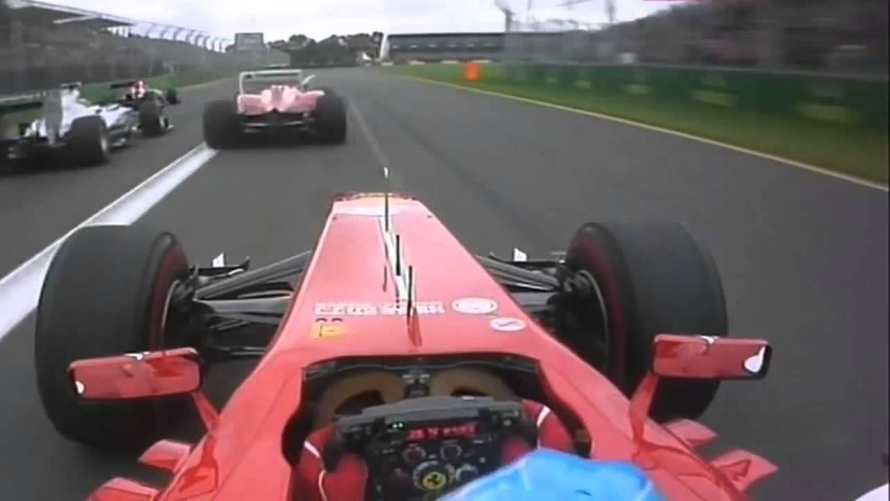 F1 Australia 2013 - Fernando Alonso Onboard Start - YouTube