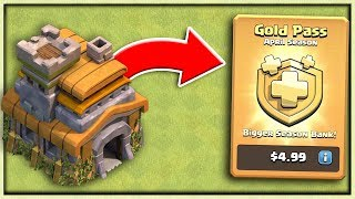 Town Hall 7 Gets GOLD PASS in Clash of Clans!