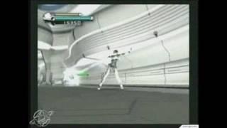 P.N.03 GameCube Gameplay - Vanessa dances and kicks tale!