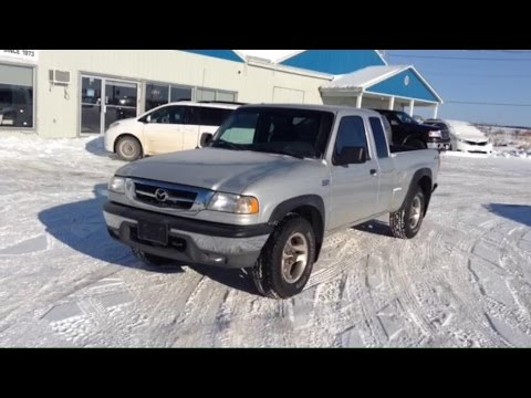 2008 Mazda B4000 V6 4x4 Start Up, Engine, Brief Drive, and in Depth Tour