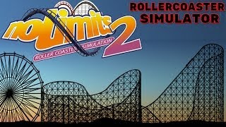 No Limits 2 - Roller Coaster Simulator Gameplay PC HD