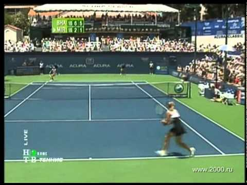 Maria Sharapova vs Sania Mirza San Diego 2007
