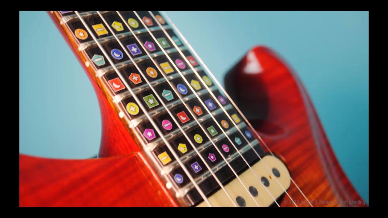 brenna method guitar fretboard labels youtube. Black Bedroom Furniture Sets. Home Design Ideas