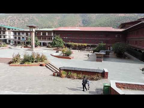 Thimphu ( Bhutan capital) clock tower square ( 29/11/17)