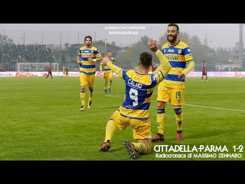 Cittadella-Parma 1-2 - Radiocronaca di Massimo Zennaro (12/11/2017) da Rai Radio 1