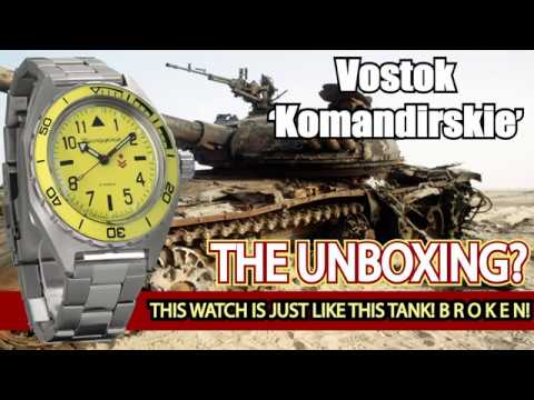 Vostok Komandirskie Failure.....Watch Before You Buy.