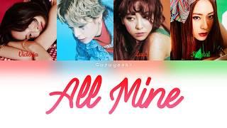 f(x) (에프엑스) - 'All Mine' Lyrics [Color Coded Han/Rom/Ita]