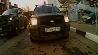 видео Видеорегистратор Subini GD-685 RU с тремя камерами и GPS информатором