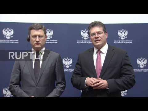 Russia: Russia, EU, and Ukraine to meet for trilateral gas talks
