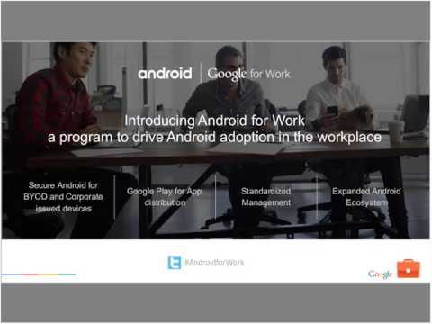 Android for Work  Your EMM On Boarding Kit