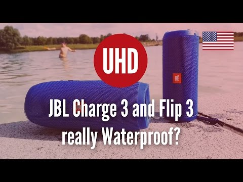 JBL Charge 3 and Flip 3 really Waterproof? I threw them into a Lake!!!