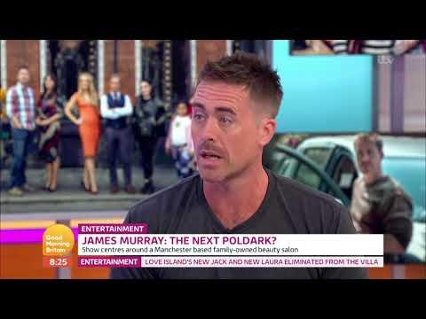 James Murray: The Next Poldark?   Good Morning Britain