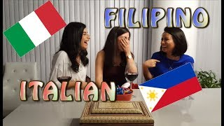 Similarities between Italian and Filipino