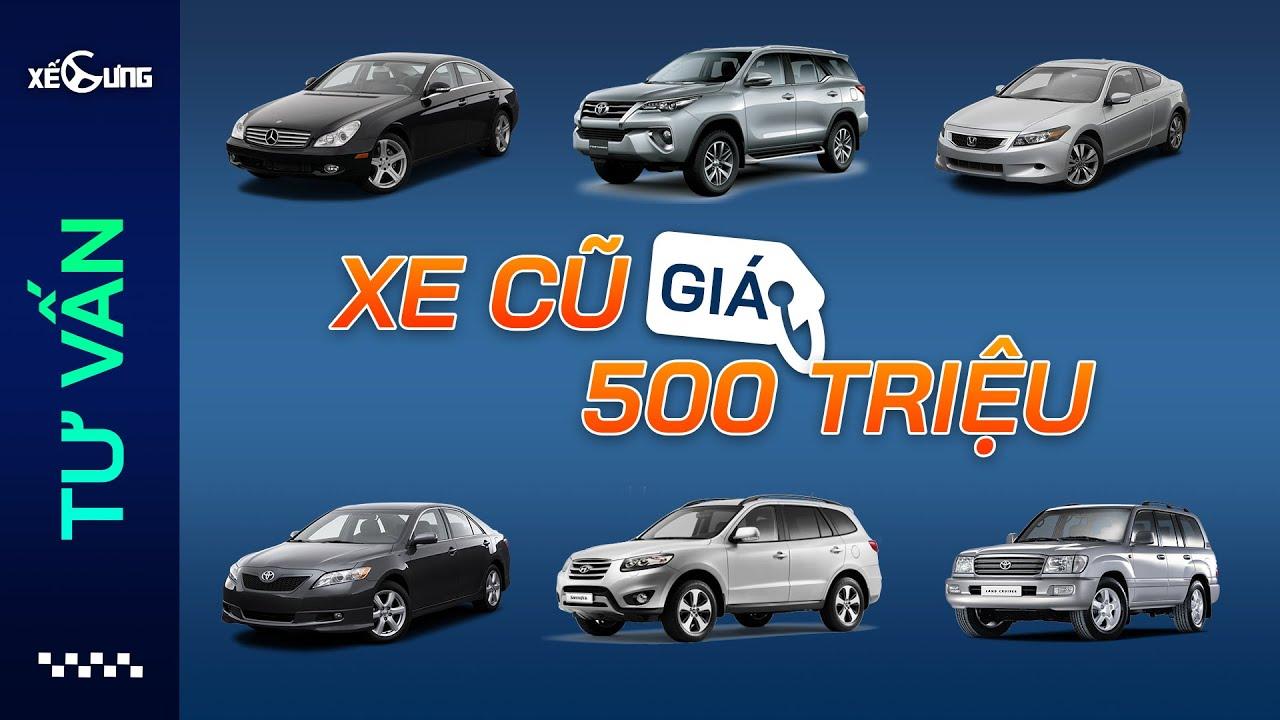 Top xe dưới 500 triệu đáng mua nhất từ hạng C trở lên