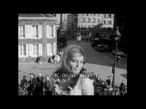 Dalida - La danse de Zorba à Montmartre (1965)