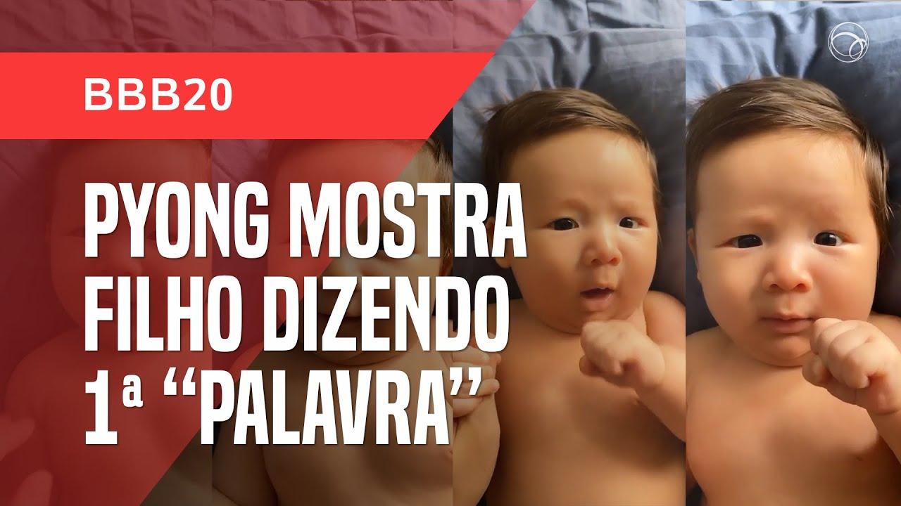 Notícias - EX-BBB PYONG LEE MOSTRA O FILHO DIZENDO SUA PRIMEIRA INUSITADA PALAVRA - online