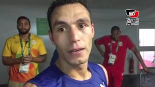 حسام بكر لاعب الملاكمة يتأهل لدور الثمانية في الأولمبياد