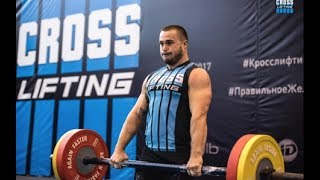 2017 Crosslifting WORLD CUP / Men 100 kg