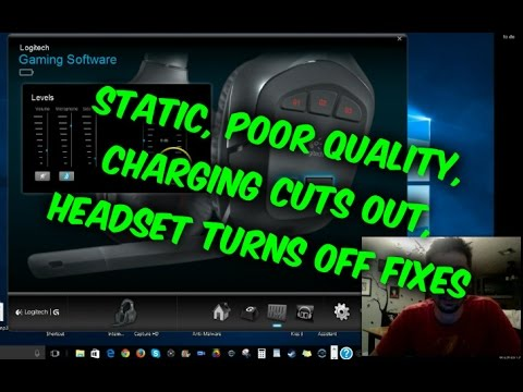 How to fix Logitech G930 PC headset turns off