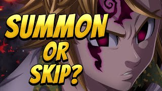 Summon Or Skip Blue Demon Meliodas? | Seven Deadly Sins: Grand Cross