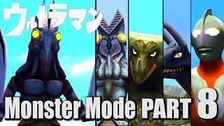 ULTRAMAN PS2 GAME - Monster Mode Part 8 -  Alien Baltan II ( 1080P HD 60fps )