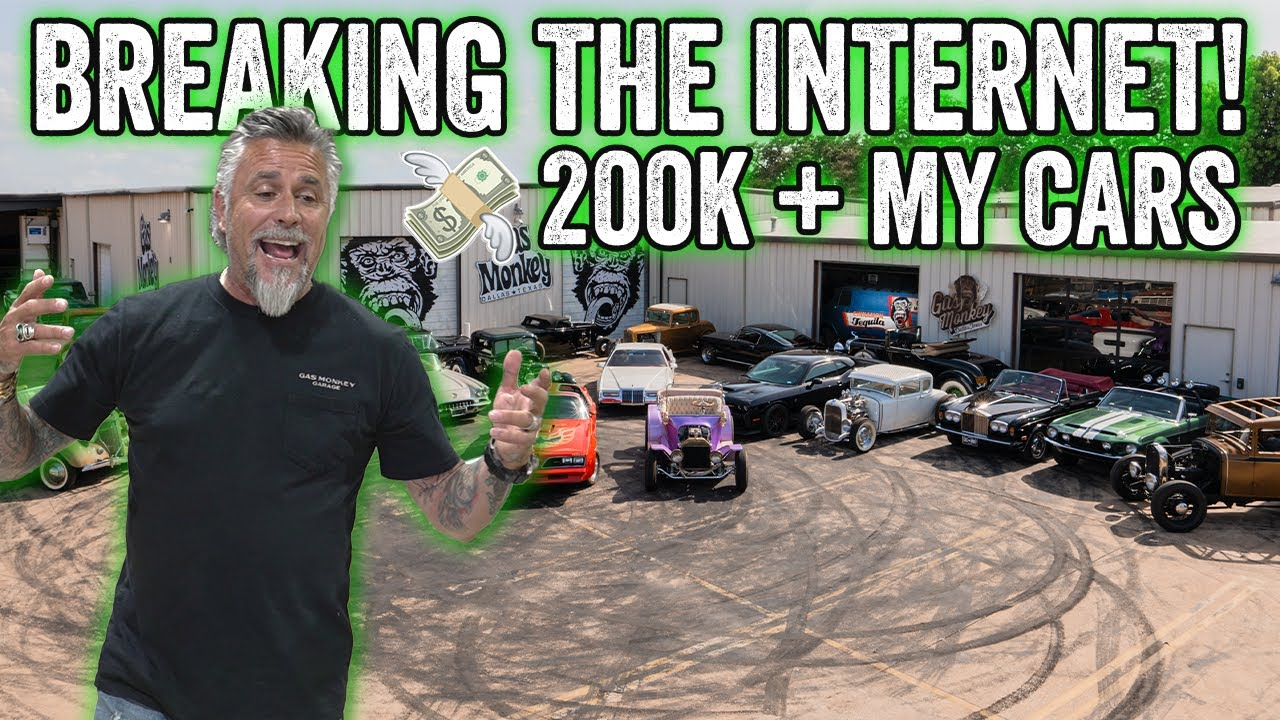How YOU can Win one of MY cars! - Gas Monkey Garage & Richard Rawlings