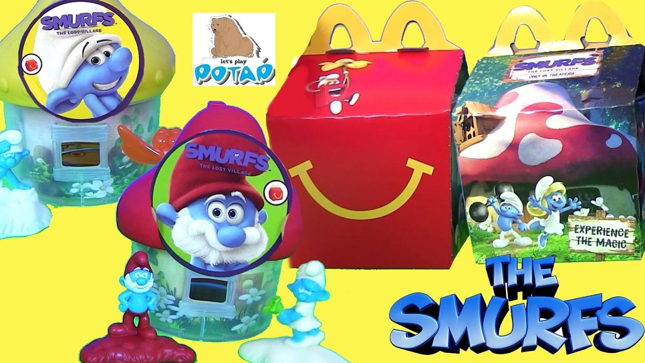 Видео для Детей #Смурфики The Smurfs ЗАТЕРЯННАЯ ДЕРЕВНЯ ...
