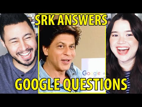 SRK ANSWERS THE