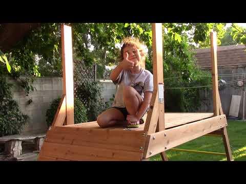 DIY Rocken Adventure Wooden Swing Set (V7 of 14)