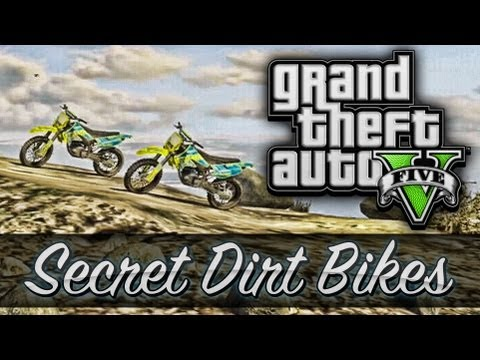 "GTA 5 ""Secret Dirt Bike"" Location! (Secret Vehicles in GTA 5)"