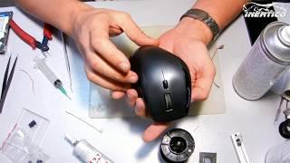 Ремонт кнопки мыши Logitech MX1100 - разборка и замена переключателя