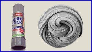 Borakssız Tutkalsız Pritt Katı Yapıştırıcı ile Pofuduk Slime, Traş Köpüğü ve Prittle Slime Yapımı