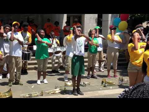 Jackson Olin High School Mean Green Marching Machine 2018 - Crucial