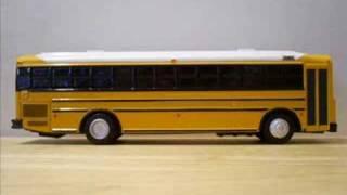 thomas saf t liner hdx school bus model white roof