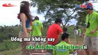 Khong Say Khong Ve Karaoke - Chau Gia Kiet