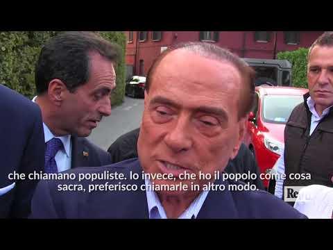 """Elezioni. Berlusconi: """"Il candidato premier? Se l'Italia vuole un buon governo deve scegliere me"""""""