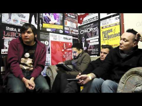 And you Will Know Us by the Trail of Dead - Interview at The Cellar, Southampton. Wed 20th Feb 2013.