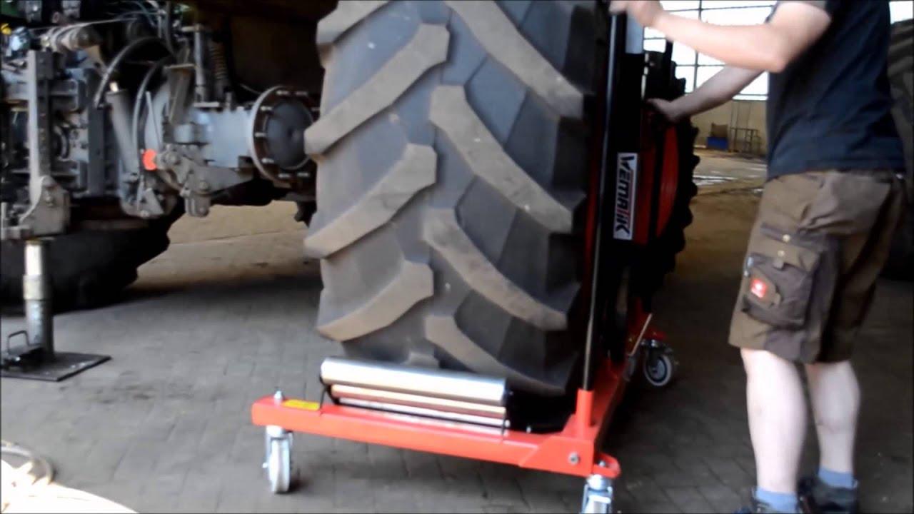 Produktvideo Reifenwechselwagen Portland www.WEMATIK.de
